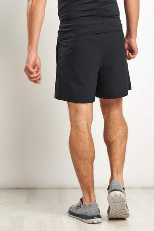 "Under Armour UA Launch 5"" Woven Run Shorts - Black image 2 - The Sports Edit"