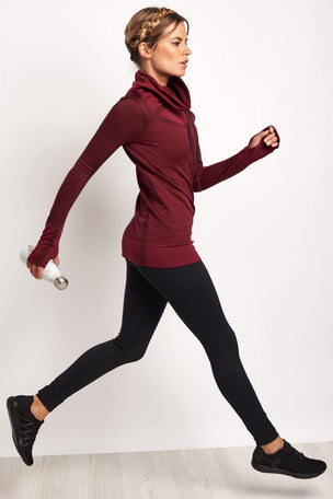 Under Armour UA Threadborne Seamless Funnel Neck image 4 - The Sports Edit