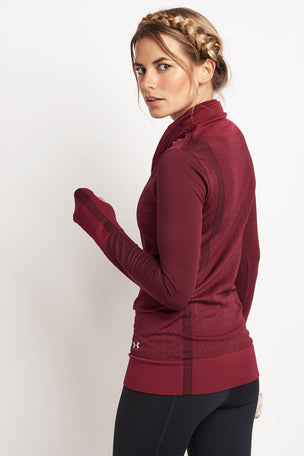 Under Armour UA Threadborne Seamless Funnel Neck image 2 - The Sports Edit
