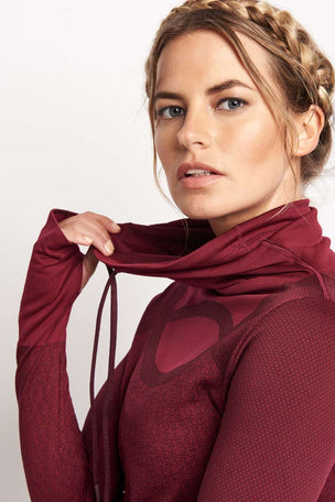 Under Armour UA Threadborne Seamless Funnel Neck image 3 - The Sports Edit