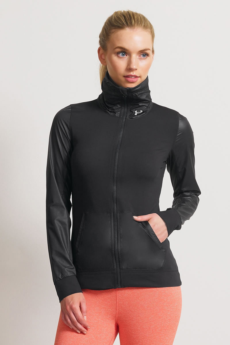 Under Armour UA Studio Essential Jacket image 1 - The Sports Edit