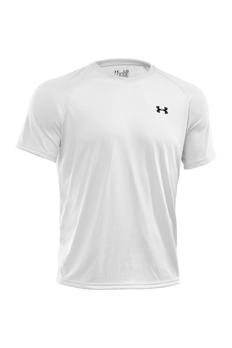 Under Armour UA Tech Short Sleeve T-Shirt White image 5 - The Sports Edit