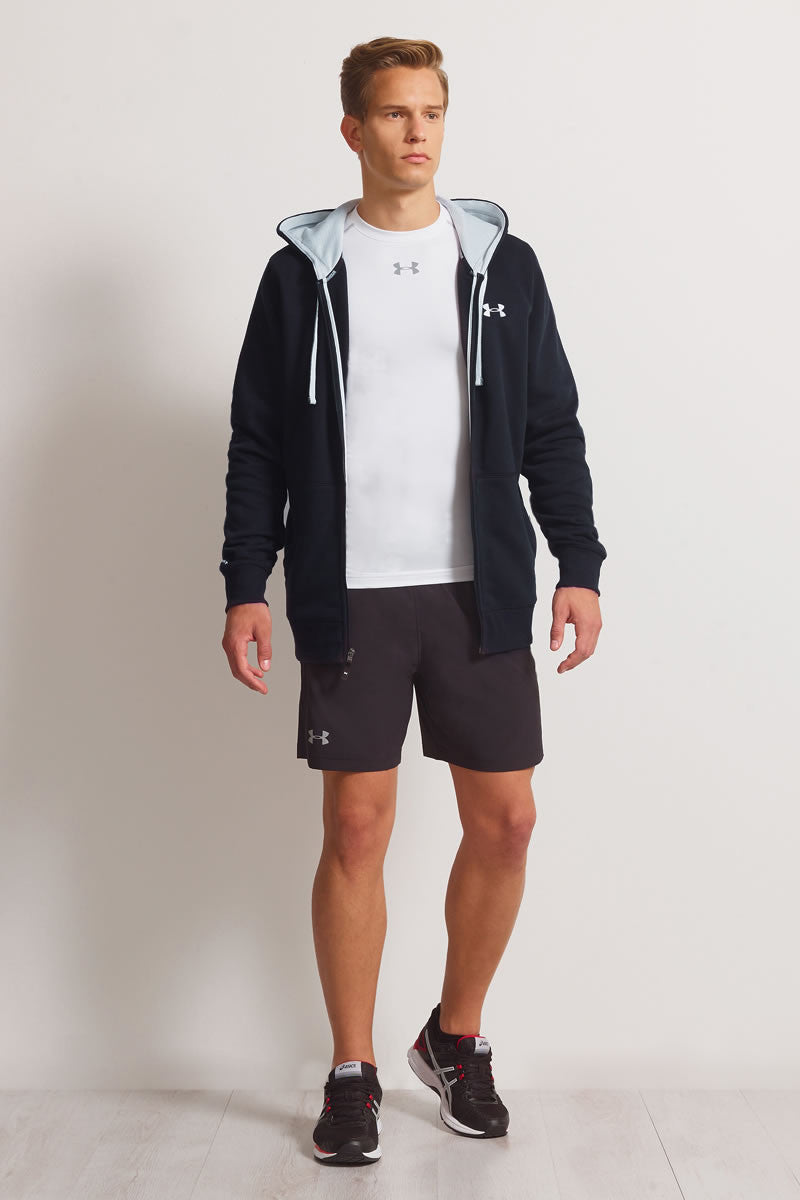 Under Armour CC Storm Rival Full Zip Hoodie - Black image 4 - The Sports Edit