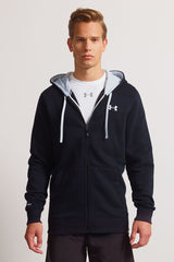 Under Armour CC Storm Rival Full Zip Hoodie - Black image 1 - The Sports Edit