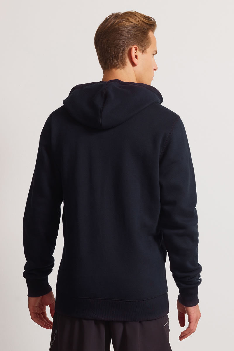 Under Armour CC Storm Rival Full Zip Hoodie - Black image 2 - The Sports Edit
