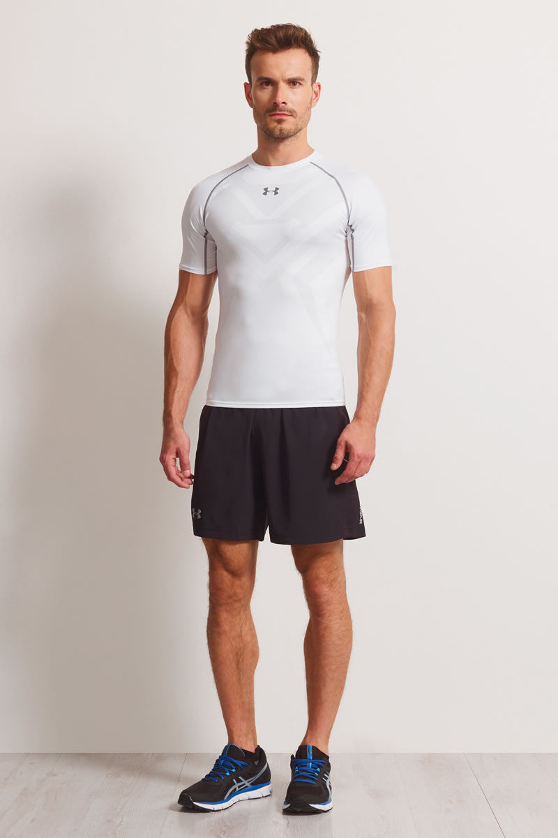 Under Armour Armourvent Compression Short Sleeve T-Shirt White image 4 - The Sports Edit