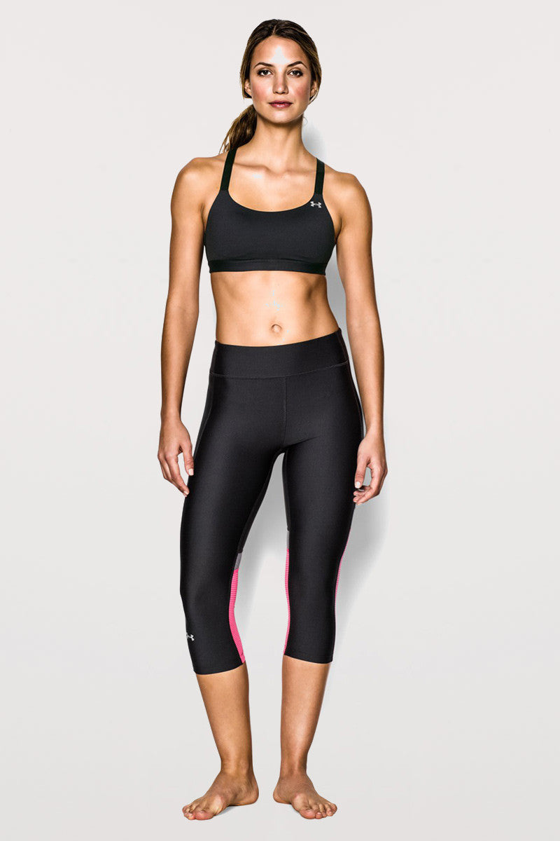Under Armour Eclipse Bra - Black image 2 - The Sports Edit