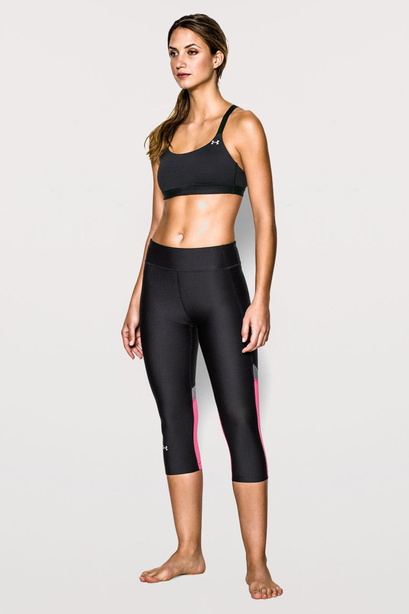 Under Armour Eclipse Bra - Black image 3 - The Sports Edit