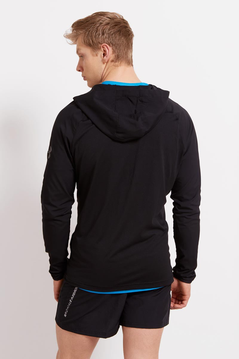 Under Armour UA Scope Hoodie 1/4 Zip-BLK image 2 - The Sports Edit