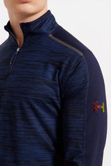 Under Armour UA Podium 1/4 Zip - BTN/CAD/IRG image 3 - The Sports Edit