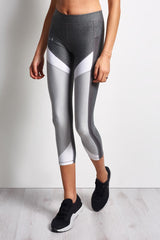Under Armour HeatGear Colour Blocked Ankle Crop image 1 - The Sports Edit