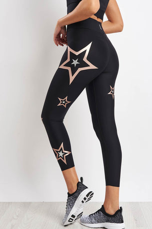 Ultracor Ultra Pop Star Leggings - Brushed Rose image 2 - The Sports Edit