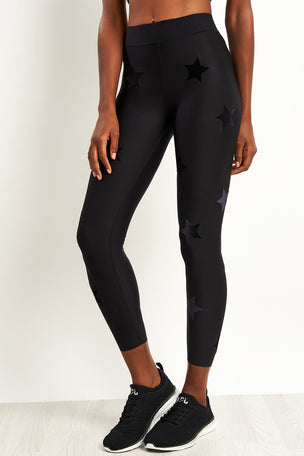 Ultracor Ultra Velvet Star Knockout Leggings - Nero image 1 - The Sports Edit