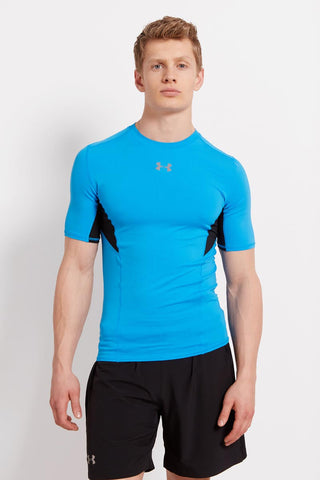 Under Armour UA CoolSwitch Compression - SS ELB/BLK/REF image 1 - The Sports Edit