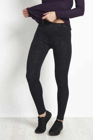 Under Armour Mirror High-Rise Printed Leggings Black/ Black image 1 - The Sports Edit