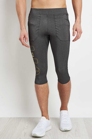 Under Armour Perpetual Half Legging image 1 - The Sports Edit