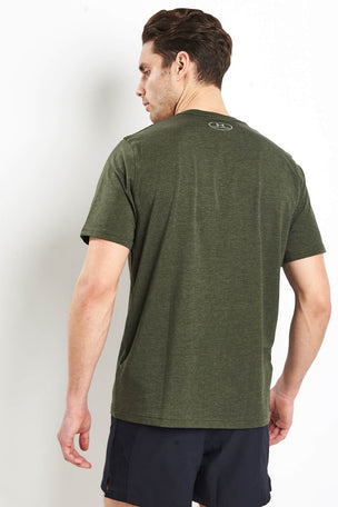 Under Armour CC Left Chest Lockup T-Shirt - Green image 2 - The Sports Edit