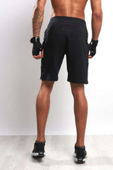 Under Armour UA Tech Terry Shorts - Black image 2 - The Sports Edit