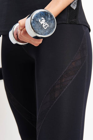 Under Armour Misty Embroidered Legging image 3 - The Sports Edit