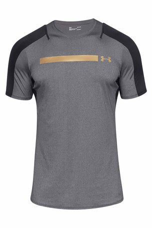 Under Armour Perpetual Fitted Short Sleeve Tee Black image 6 - The Sports Edit
