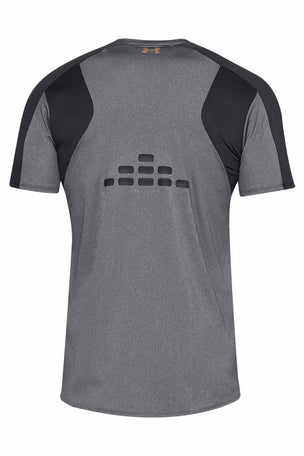 Under Armour Perpetual Fitted Short Sleeve Tee Black image 5 - The Sports Edit