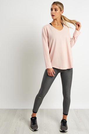 Under Armour Pindot Open Back Long Sleeve image 4 - The Sports Edit