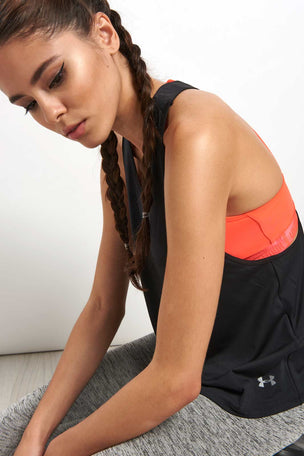 Under Armour Swing Tank Black image 3 - The Sports Edit