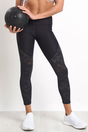 Under Armour UA Vanish Mesh Ankle Crop Leggings image 1 - The Sports Edit