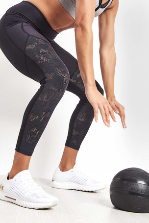 Under Armour UA Vanish Mesh Ankle Crop Leggings image 3 - The Sports Edit