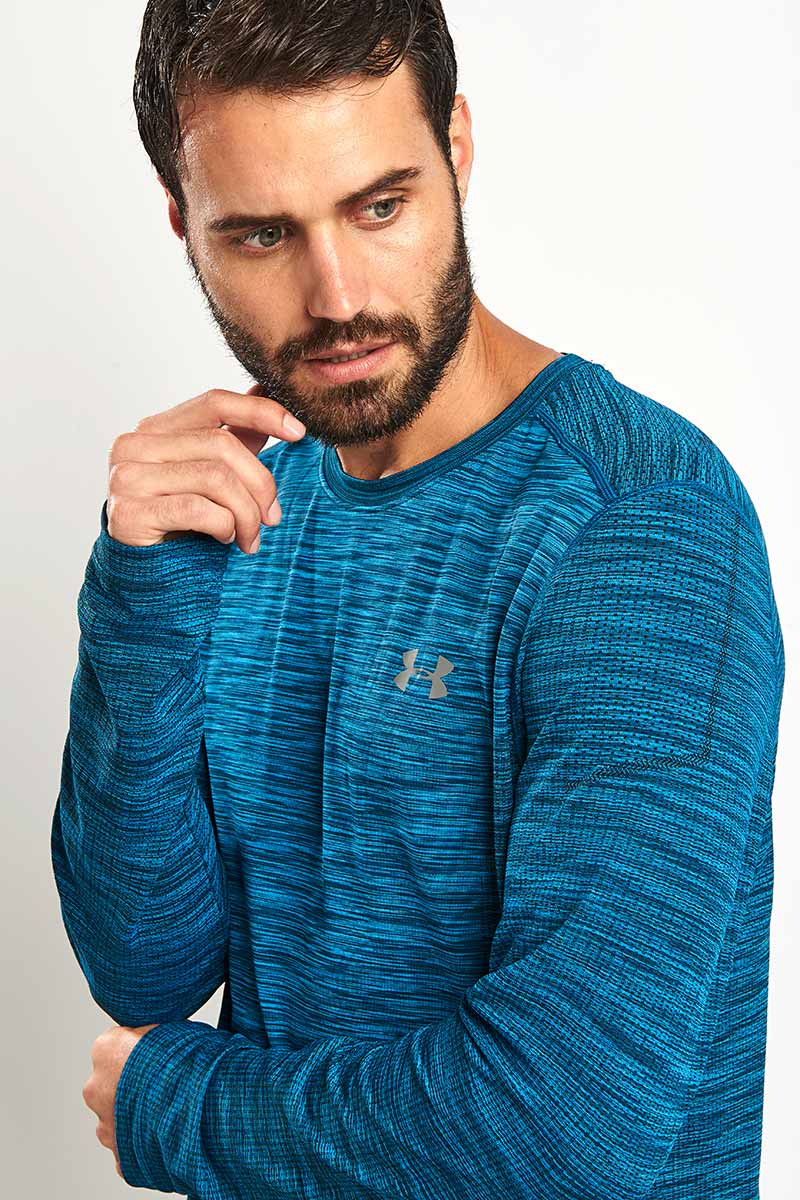 Under Armour Threadborne Seamless - Long Sleeve image 3 - The Sports Edit