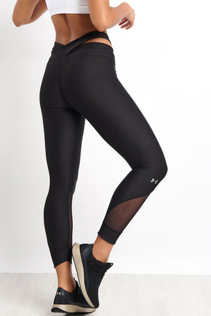 Under Armour Anklette Leggings - Black image 2 - The Sports Edit