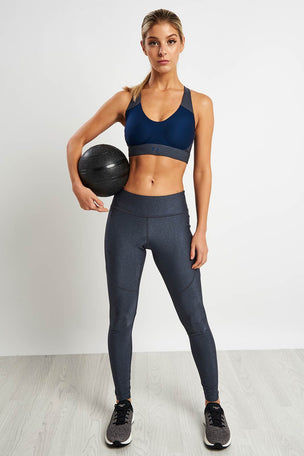 Under Armour Vanish Mid Metallic Bra image 4 - The Sports Edit