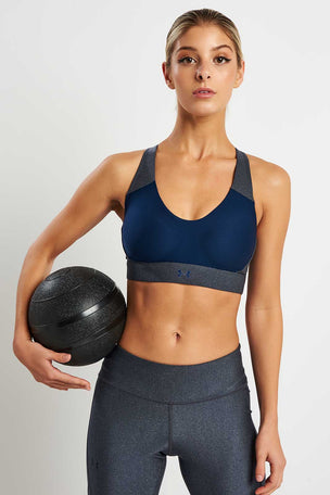 Under Armour Vanish Mid Metallic Bra image 5 - The Sports Edit