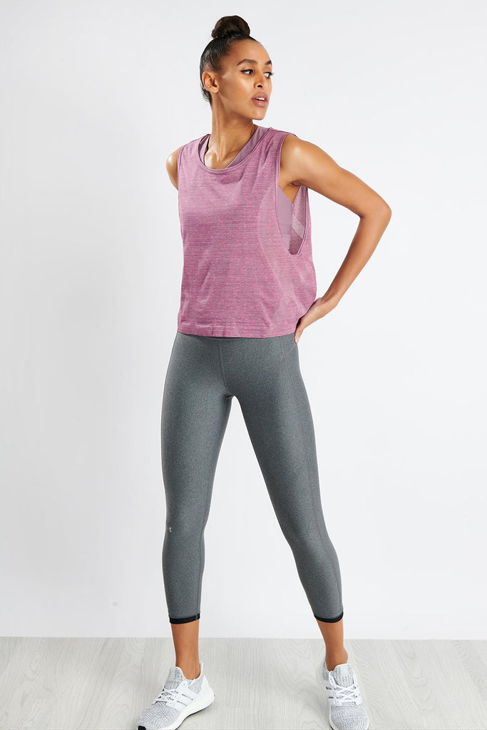 1317f24c Under Armour Vanish Seamless Spacedye Muscle Tank - Purple image 2 - The  Sports Edit
