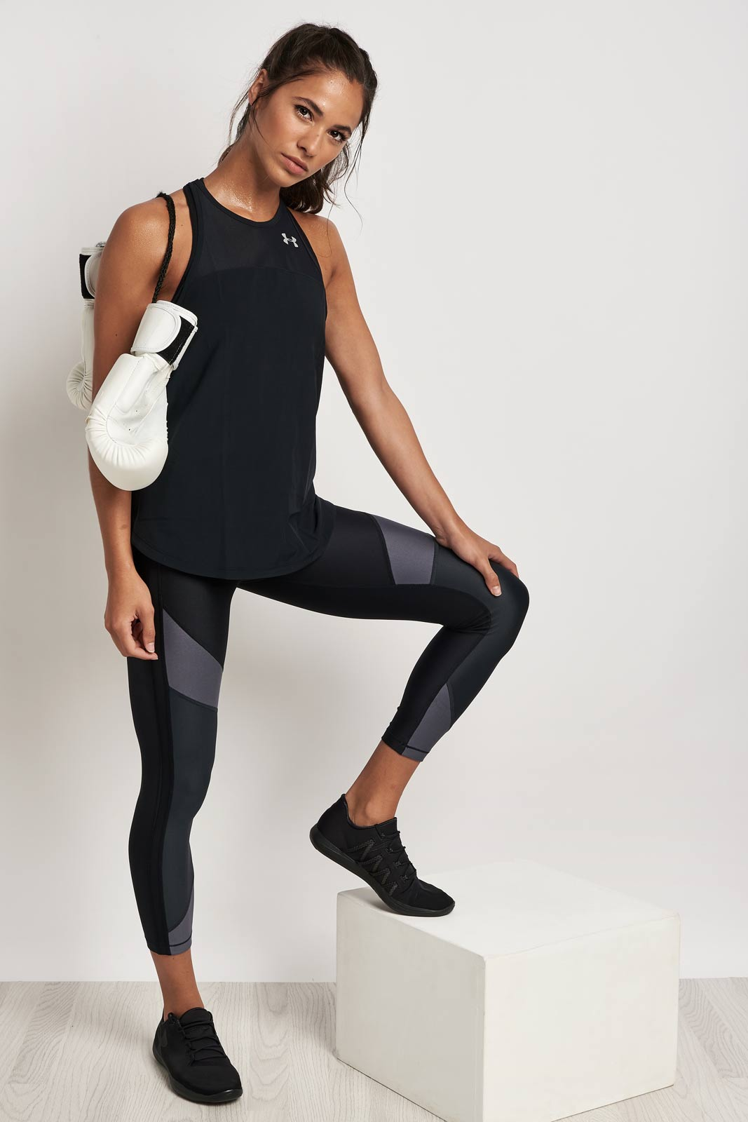 Under Armour Accelerate Tank 2.0 Black image 4 - The Sports Edit