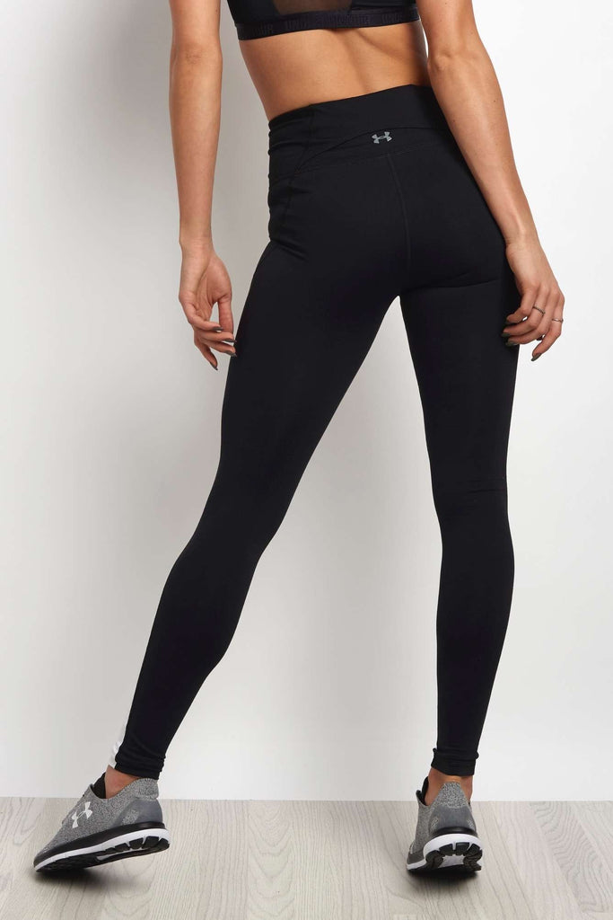 1bf5555d28e96 Under Armour Mirror High-Rise Printed Legging Black/White image 2 - The  Sports