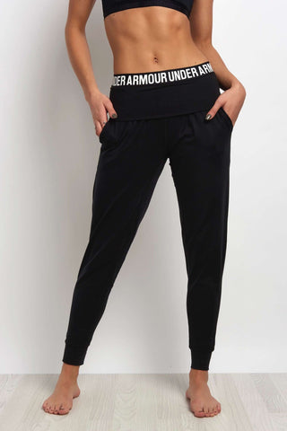 Under Armour Downtown Jogger Black image 1 - The Sports Edit