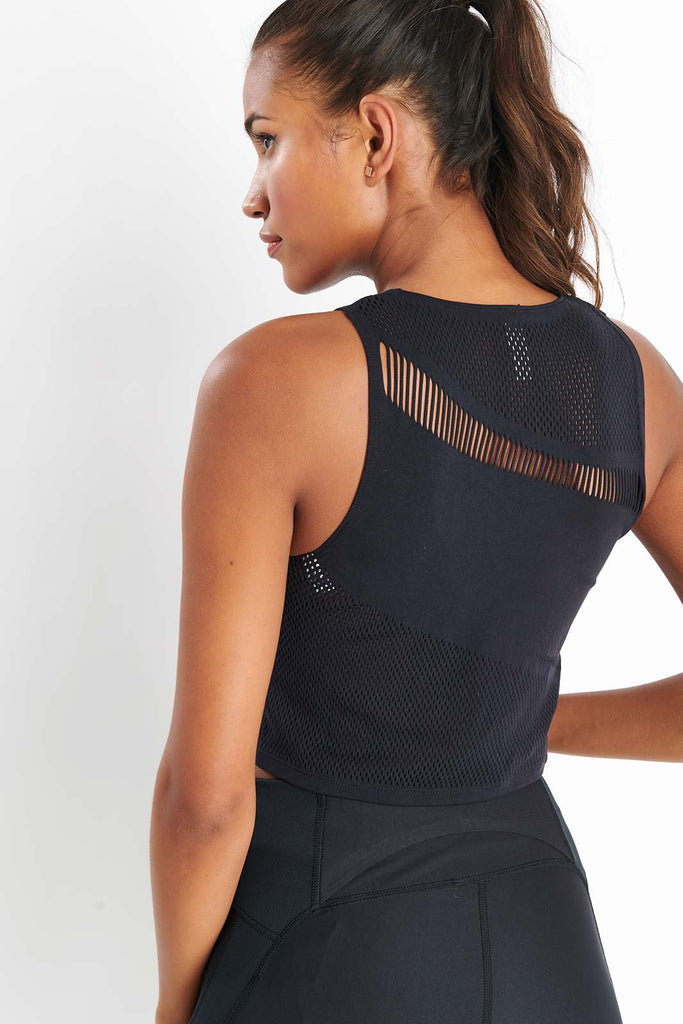 5e062f1160 Under Armour Warrior Knit Tank - Black image 3 - The Sports Edit
