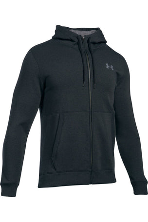 Under Armour Threadborne Full Zip Hoodie - Anthracite image 4 - The Sports Edit