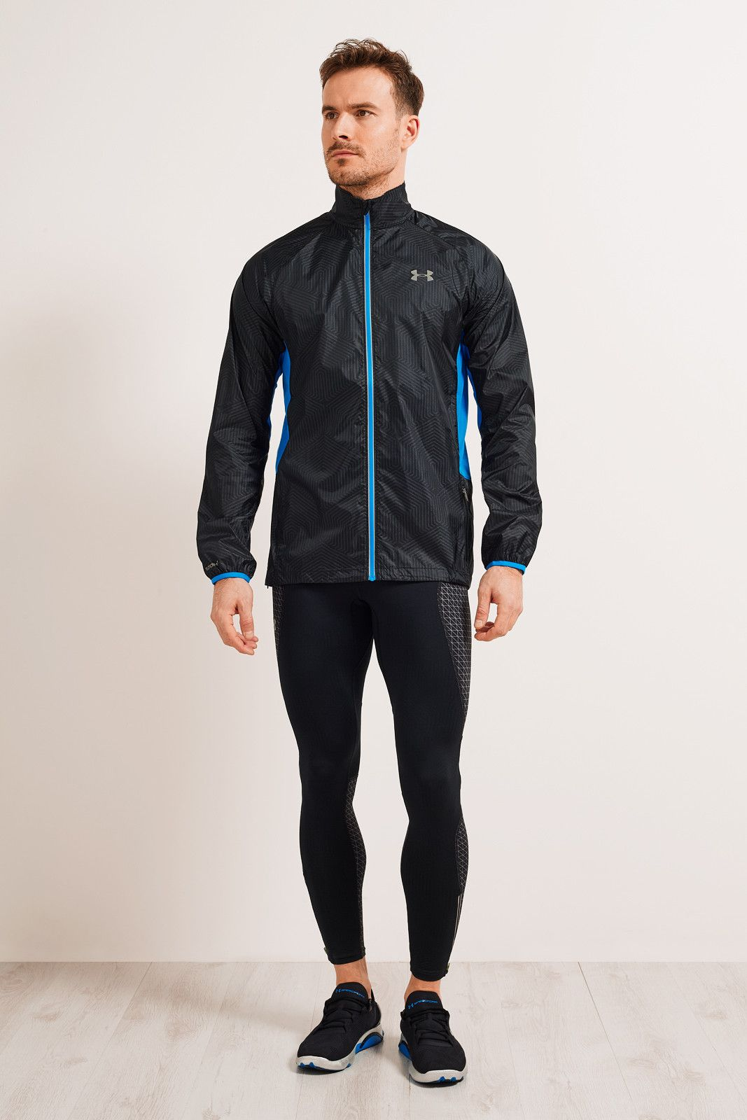 Under Armour UA ColdGear® Infrared Storm Packable Jacket Black image 5 - The Sports Edit