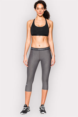 Under Armour UA Armour Mid Breathe Sports Bra - Black image 3 - The Sports Edit