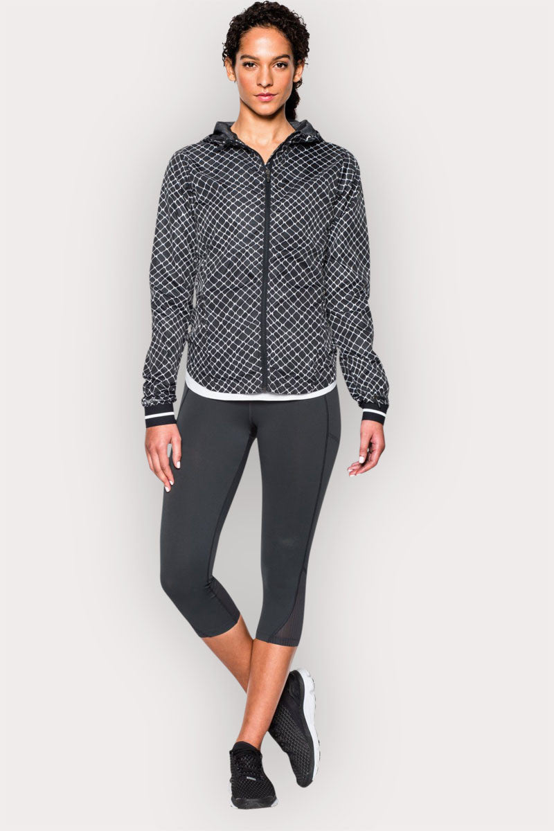 Under Armour Printed Layered Up Storm Jacket BLK/WHT/REF image 5 - The Sports Edit