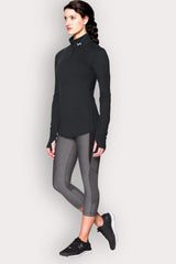 Under Armour Streaker 1/2 Zip - Black image 5