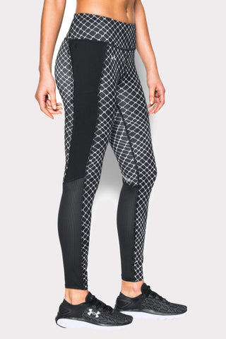 Under Armour Fly By Printed Legging V3 image 1 - The Sports Edit