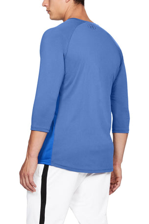 Under Armour Threadborne Vanish 3/4 Sleeve Mens Running Top image 5 - The Sports Edit