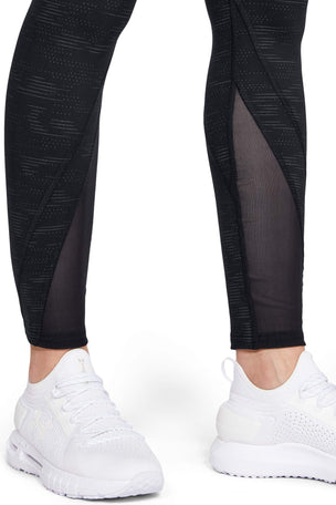 Under Armour Rush Leggings Metallic Print - Black image 5 - The Sports Edit