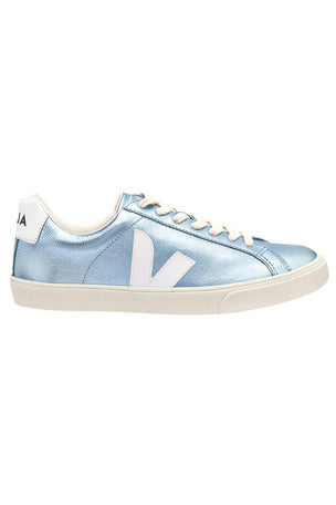 Veja Esplar Leather - Iceberg White image 1 - The Sports Edit