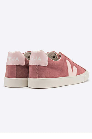 Veja Esplar Low Logo Suede - Petal Petale | Women's image 3 - The Sports Edit