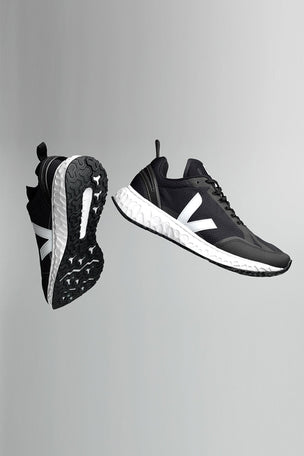 Veja Condor Mesh Black White - Black image 4 - The Sports Edit