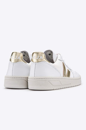 Veja V-10 White Gold - Women's image 3 - The Sports Edit